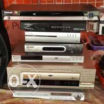 For sale DVD & TV receiver working very well