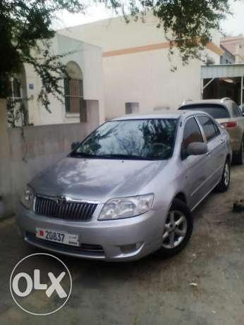 Toyota Corolla 2006 April change with any cars