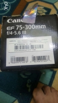 used canon EF 7-300m