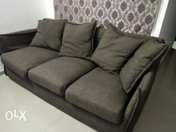 Sofa 3seater and a single seater