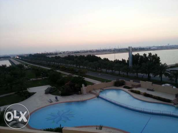 Luxurious 1 bedroom with decent furniture fully furnished & pool views