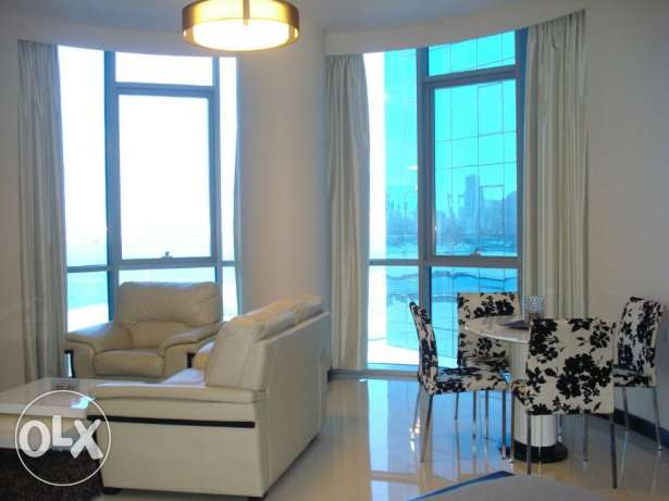 sea view studio for rent in juffair
