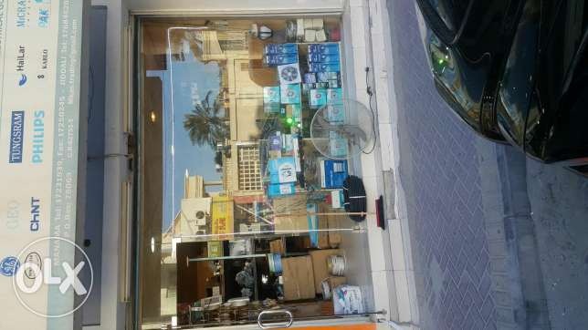 Running Shop for sale in jid aali