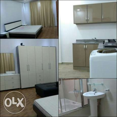 Adliya - Big 1 Room Studio Type Rent 280 Fully furnished - Coverd park