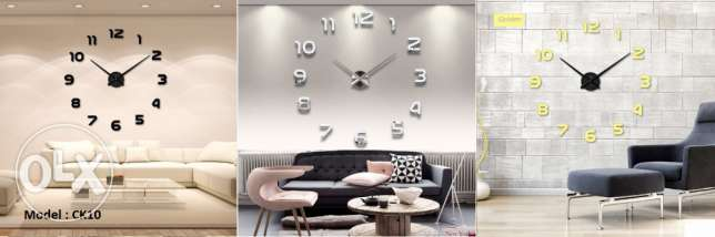 Modern High quality wall clocks مدينة عيسى -  1