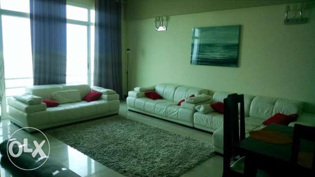 3 BR Fully Furnished Apartment in Amwaj in Luxury Area