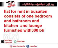 flat for rent in busaiten