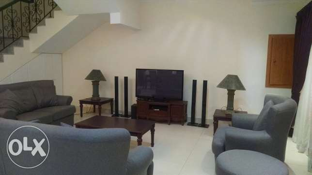 3 BR Fully Furnished villa opf a small compound in saar