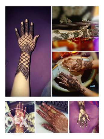 Henna designing available
