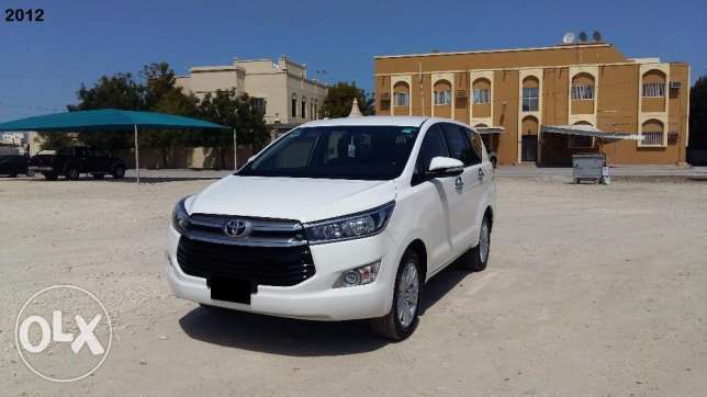 2016 model Toyota INNOVA (Immaculate condition)