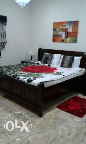 2 bedroom Stylish full furnish apmt for rent near Saar Mall Bd. 430/- سار -  2