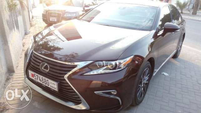 For Sale 2016 Lexus ES350 Panorama Single Owner Bahrain Agency