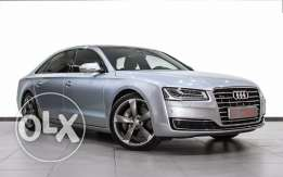 Audi Approved A8L Silver 60 TFSI low kms