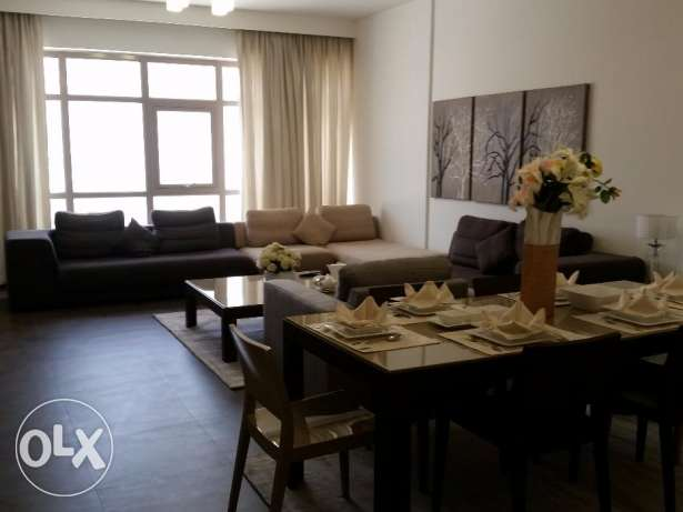 Nicely furnished and decorated two bedrooms Spacious apartment.