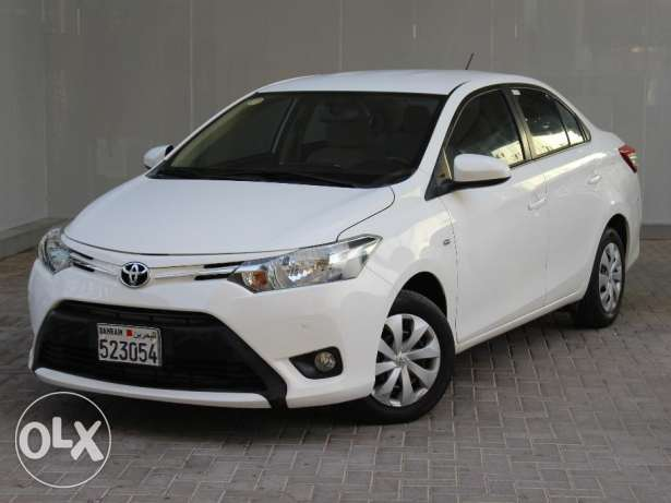 Toyota Yaris 2015 White For Sale