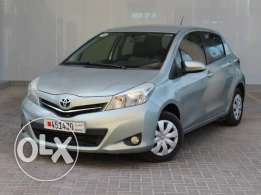 Toyota Yaris 2013 Silver For Sale