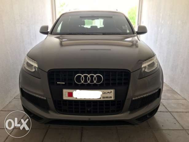2013 Audi Q7 3.0T 333hp 54k km Grey exterior / Black interior
