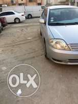 Toyota Corrola for sale model 2002