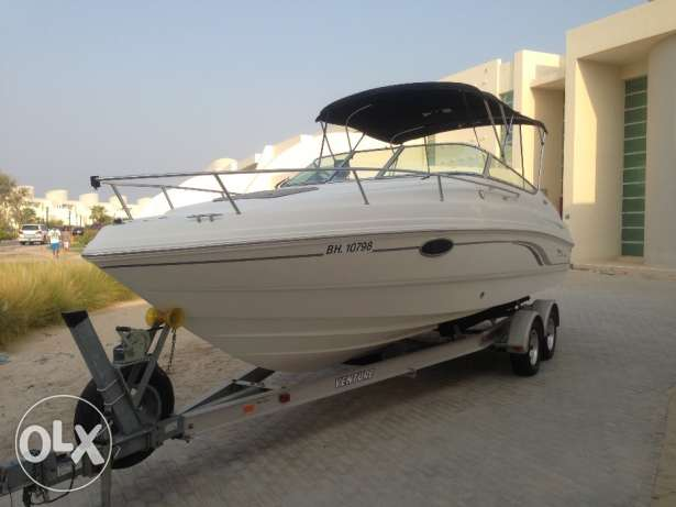 2001 Chaparral 245 SSI with extended swim platform