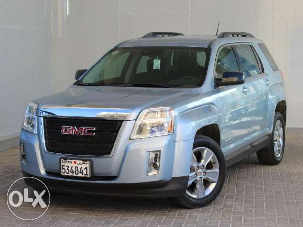 GMC Terrain 3.6L SLE2 FWD 2015 Blue For Sale
