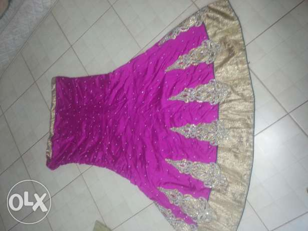 party wear lahanka new condition for sale only two times used