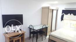 1 BHK apartment with gym & free Internet