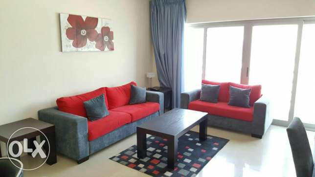 Fully furnished 2 BHK flat with nice view & gym