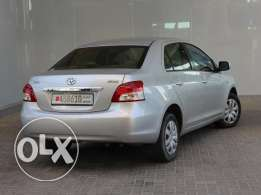 Toyota Yaris 1.3L 2013 Silver For Sale