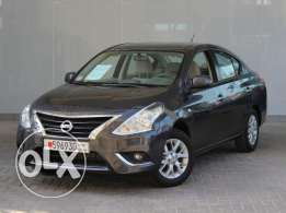 Nissan Sunny 1.5L Full option 2016 Black For Sale