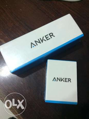 For sale Original ANKER USB Mobile + Car Charger White Color