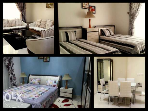 Great 3 bedroom beautiful Apartment in New hidd fully furnished incl جفير -  5