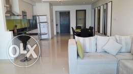 At Amwaj 2 bedroom full furnished modern apartment BD. 650 Inc