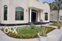 3 Bedroom semi furnished big villa with nice amenities in Janabiya