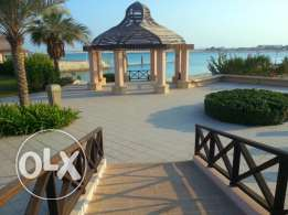 3 bedroom flat for rent in amwaj mena 7 + garden