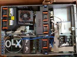 Dell PowerEdge 2900 Server with 8 SAS Hard Drives