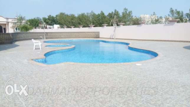 4 Bedroom SEMI Furnished Luxury Single Storey Villa for rent BD 800/