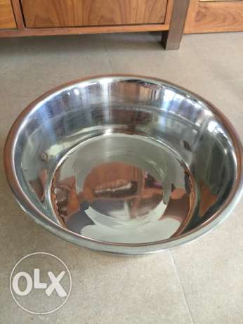 Stainless water bowl