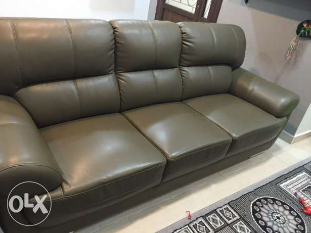 6 seater leather sofa for sale