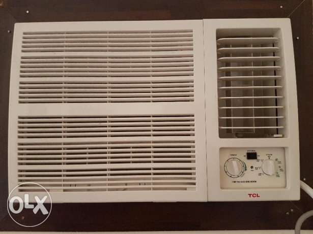TCL 2 ton window AC for sale.Brand new 2 months old.