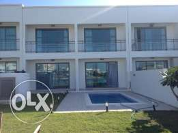 Beachfront luxurious villa 4 bedrooms with modern furniture & Sea view