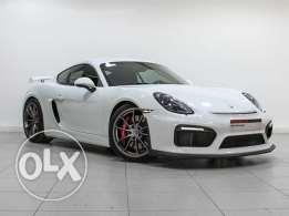 Porsche Cayman GT4 Porsche Approved White 2016MY