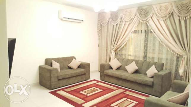 Fully Furnished/ new hidd spacious 3 BHK apartment with maid room