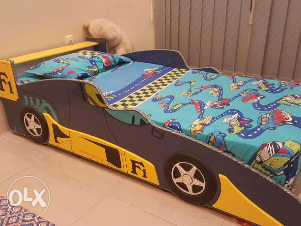 F1 car bed set for kids