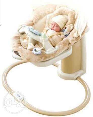 Graco sweetpeace swing and soother