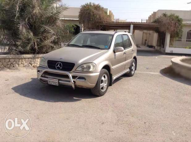 ~~~MERCEDES BENZ SUV 1000bd URGENTLY LEAVING in excellent condition