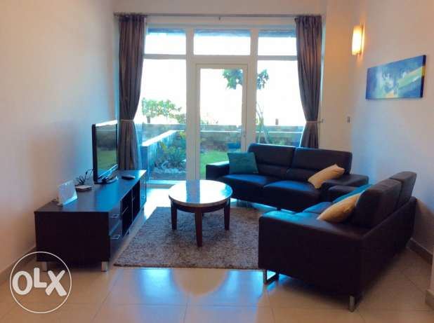 Reed island 2 bedroom fully furnished flat with private garden