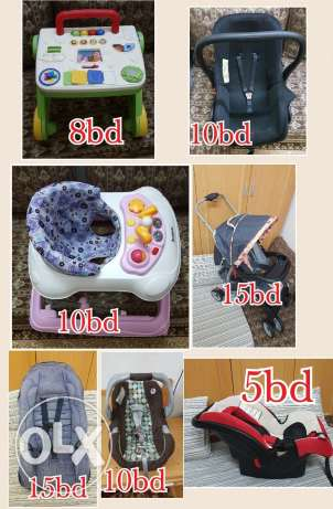 Baby items car seat walker stroller1