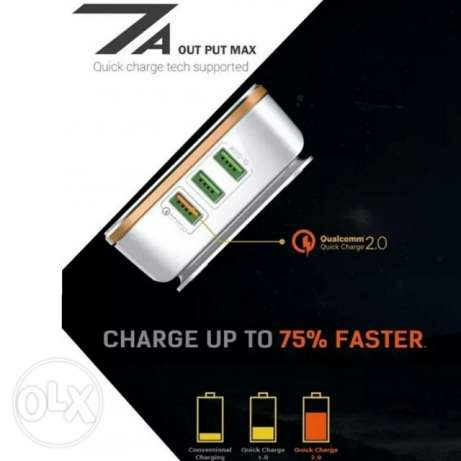 For sale 6 port USB charger for all Mobil and all devices.. Qualcomm