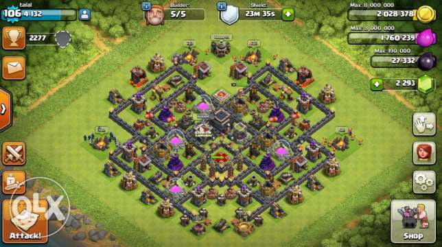 Clash of clans acc for sale سند -  1