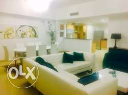 flat 3 bedroom + maid room for rent seaview amwaj